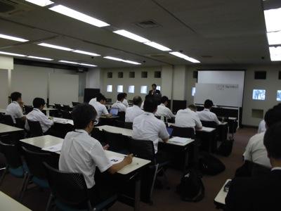 工事担当者安全衛生研修会講義写真