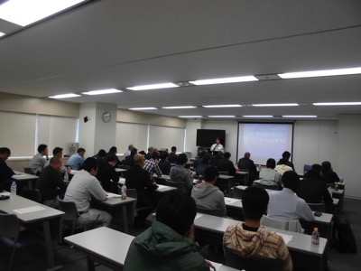 10 23開催 職長 安全衛生責任者能力向上教育講義写真