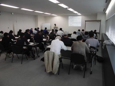 6 12開催 足場の組立て等の業務に係る特別教育講義写真