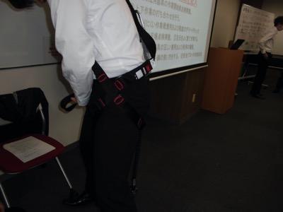 6 19開催 フルハーネス型安全帯使用作業特別教育講義写真