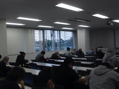 11 29開催 粉じん作業従事者特別教育講義写真
